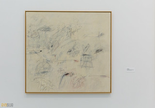 Cy Twombly The Broad Museum Los Angeles 01 | by Eva Blue