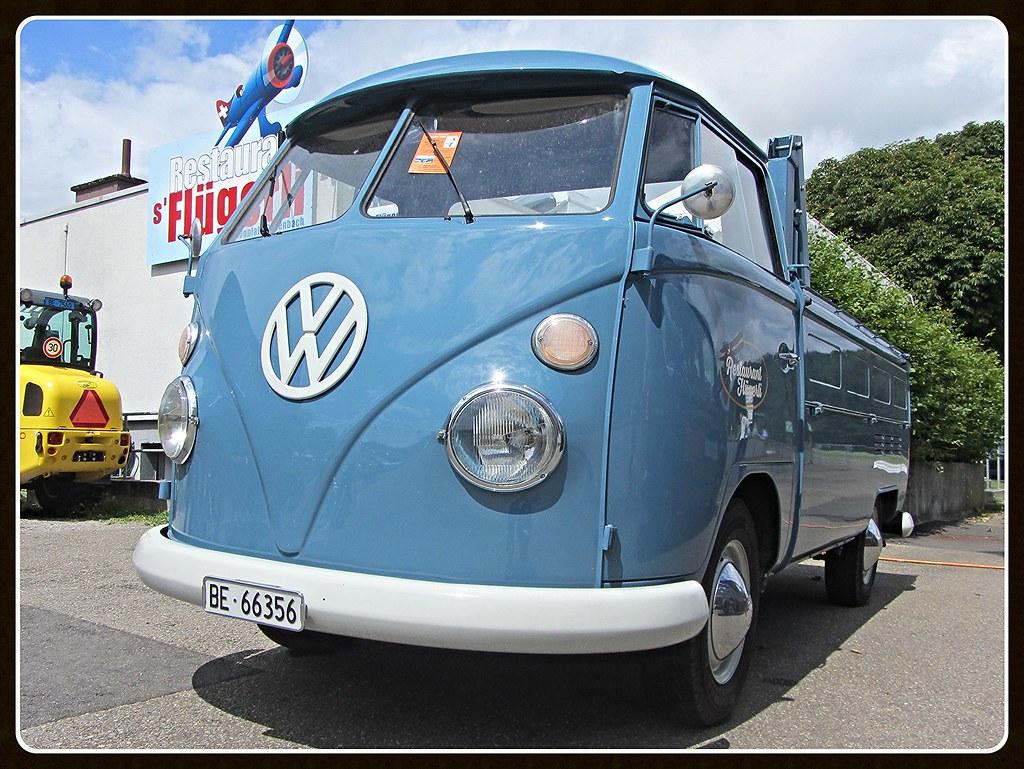 Vw T1 Pick Up 1965 Oldtimers Bleienbach 31 07 2016 Daniel