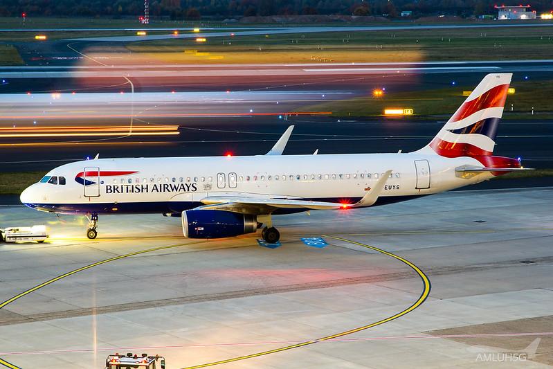 British Airways - A320 - G-EUYS (1)