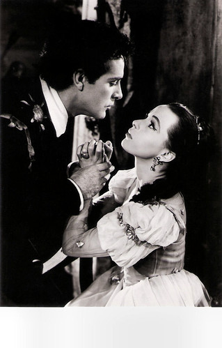 Richard Burton and Claire Bloom in Hamlet (1954)