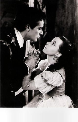 Richard Burton and Claire Bloom in Hamlet (1954)