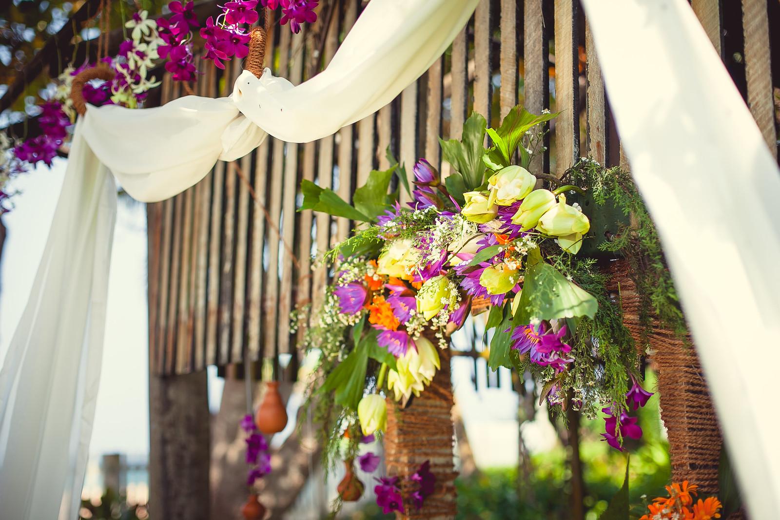 свадебная арка на Шри Ланке