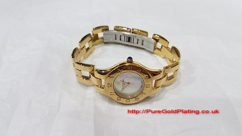 Baume Mercier Gold Plated Watch | by PureGoldPlating