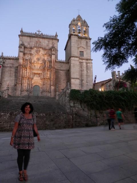 Beatriz y la iglesia de Colón