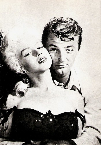 Marilyn Monroe and Robert Mitchum in River of No Return  (1954)