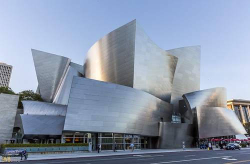 Walt Disney Concert Hall The Broad Museum Los Angeles 02 | by Eva Blue