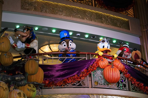 Goofy, Donald, Pluto, Chip and Dale at Mickey's Mouse-querade Party | by Disney, Indiana