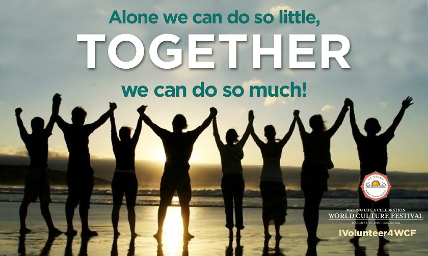 Wcf2016 Alone We Can Do So Littletogether We Can Do So Flickr
