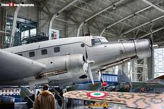 MM61804 142-5 - 19 - Italian Air Force - FIAT G.212AV - Italian Air Force Museum Vigna di Valle, Italy - 160614 - Steven Gray - IMG_0406_HDR
