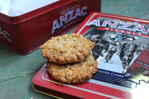 Anzac Biscuits (Dairy-Free)
