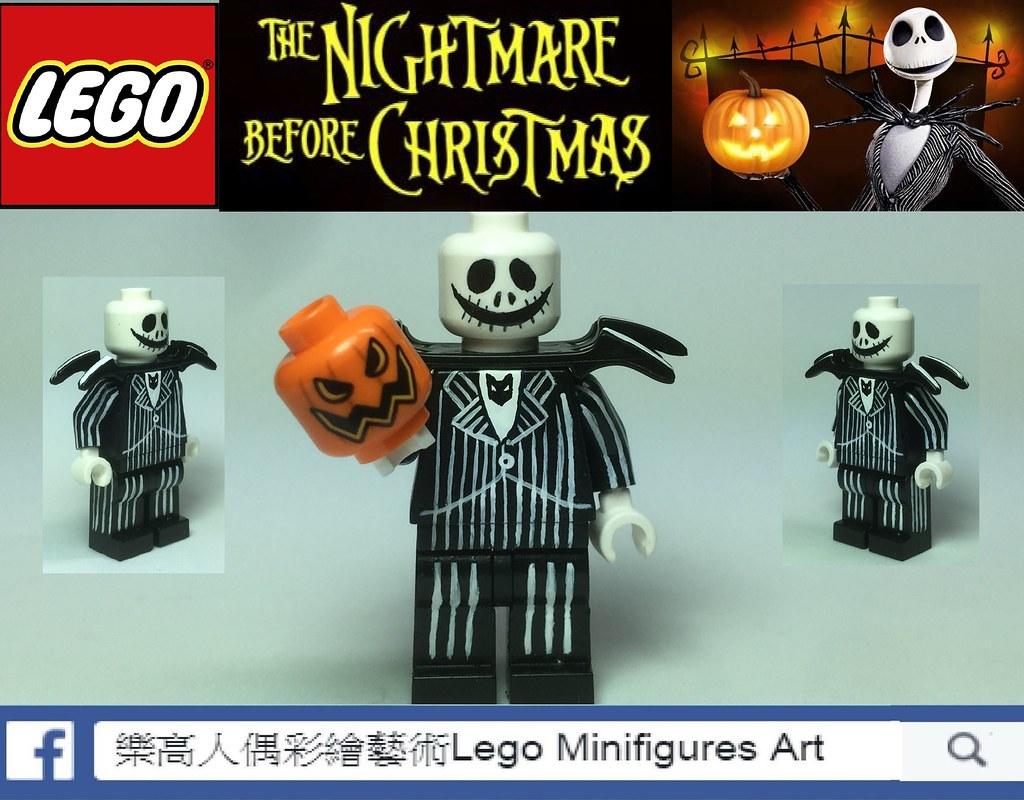 moc lego nightmare before christmas jack by lma