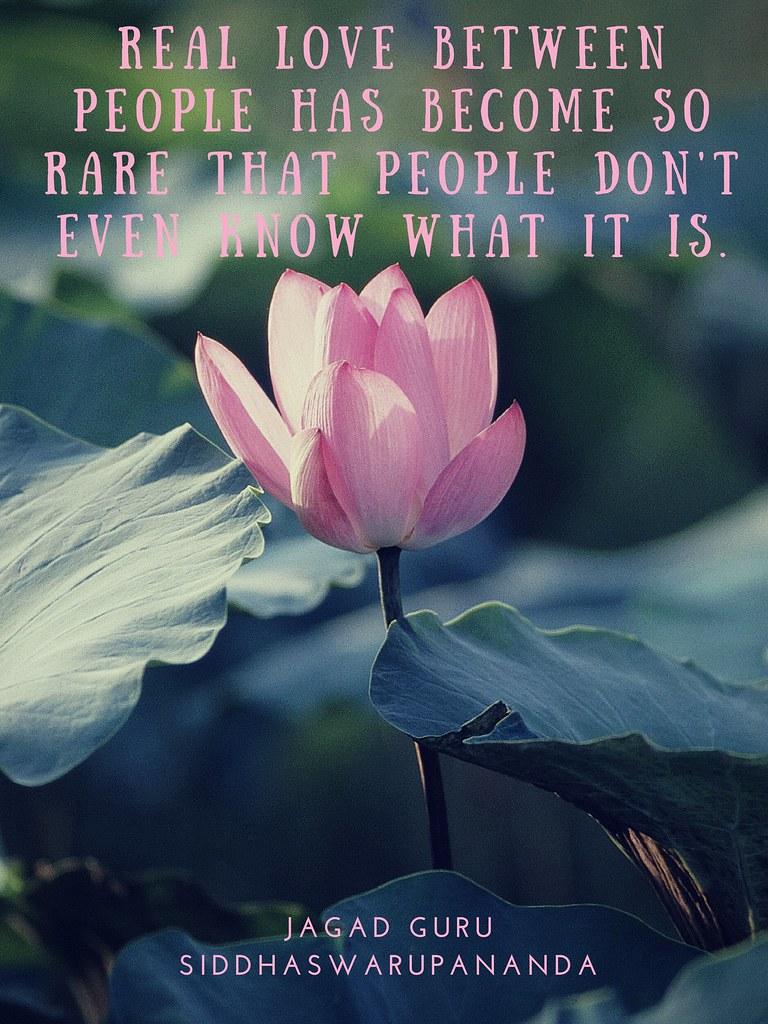 Quote From Jagad Guru Siddhaswarupananda On Love David Bell Flickr