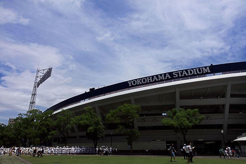 横浜スタジアム 2016夏の高校野球開会式