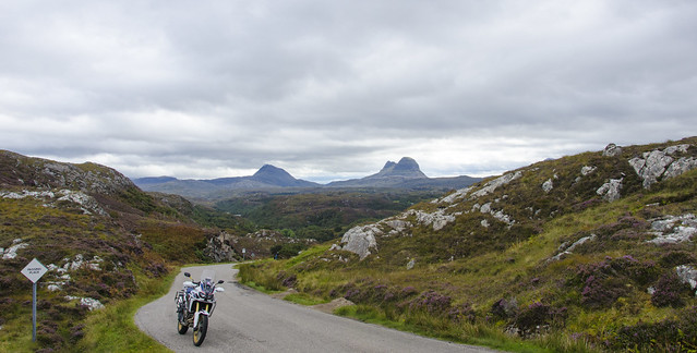 Africa Twin Assynt and Coigaich