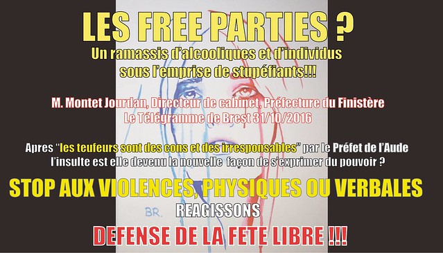 défense de la fête libre