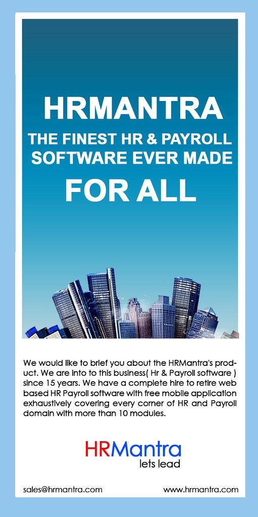 hrmantra hr software , payroll software | I would like to br