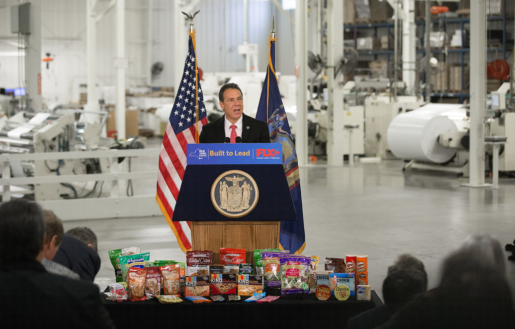 Governor Cuomo Announces American Packaging Expansion to Add 366 New Jobs in Monroe County