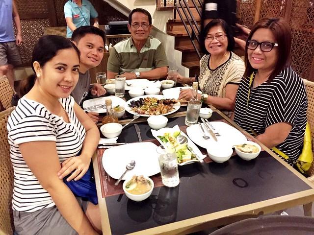 dinner at Mesa Filipino Moderne