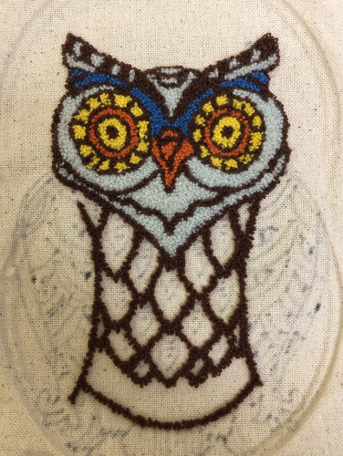 Punch Needle Owl (Front) | by Twill Power