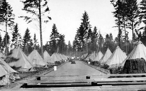447 Aero Squadron Vancouver Barracks 1918