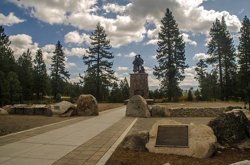 Donner Party Memorial And Schallenberger Cabin Site Flickr