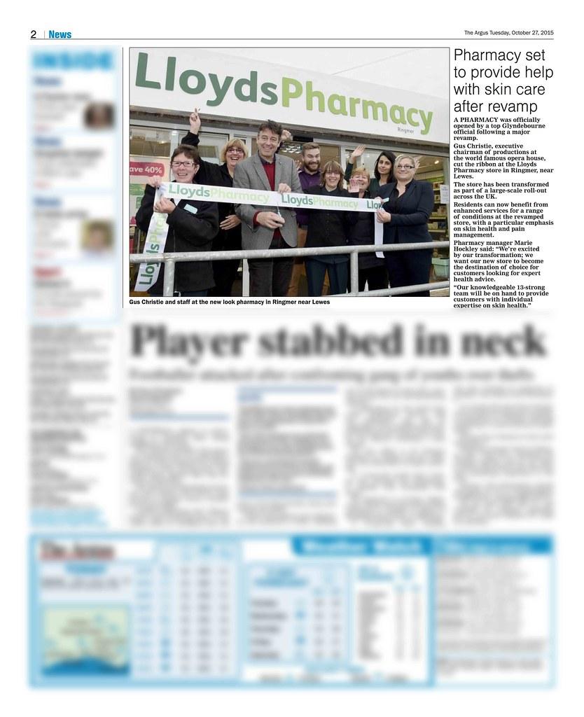 argus pharmacy Lloyds Pharmacy Ringmer Oct 2015 Argus | Susi Doherty | Flickr