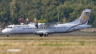 Myanmar ATR 72-600 msn 1368