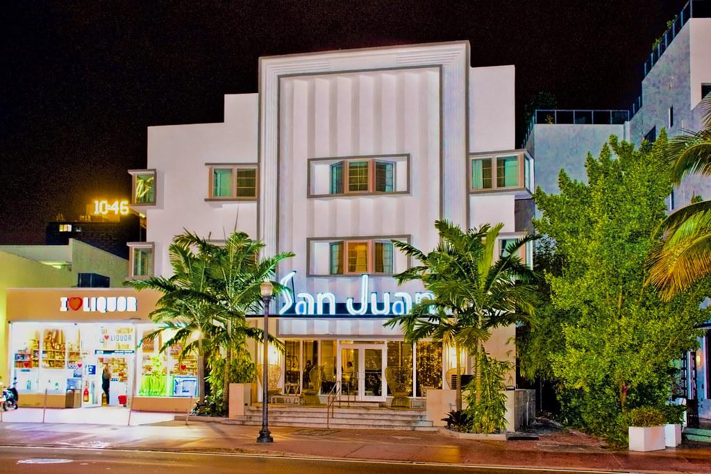 San Juan Hotel  Collins Avenue Miami Beach Florida Usa Architect