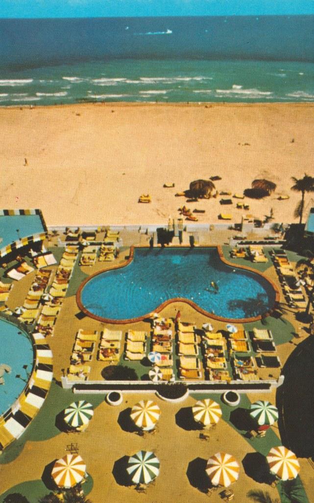 Stan Musial & Biggie's Ivanhoe Motel - Miami Beach, Florida