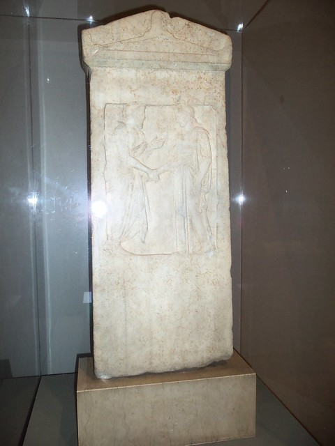 5th c BC Greek Grave Stele (2)