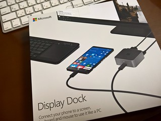 Display Dock届いたー! Let's continuum! | by jiminy nseries