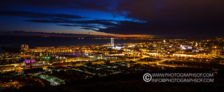 Swansea at Night (33 photos)