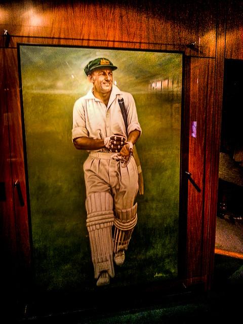 International cricket hall of fame, Don Bradman images