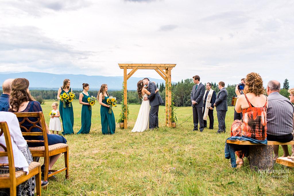 Smithers Farm Wedding Ceremony