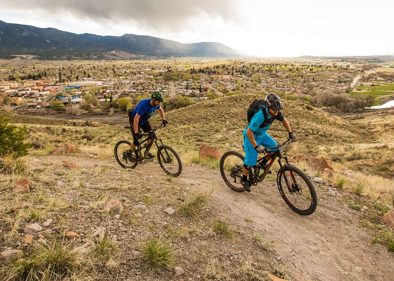 BLM Mountain Biking: Salida Mountain Trails in Colorado