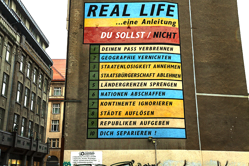 REAL LIFE an instruction--Leipzig