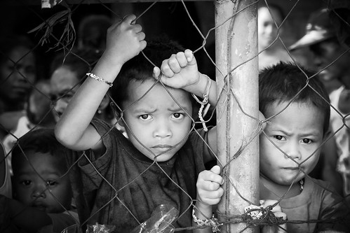 Tiny Prisoners In Black and White | by philwarren