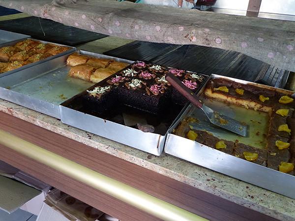 les gâteaux de la boulangerie de Tripodes