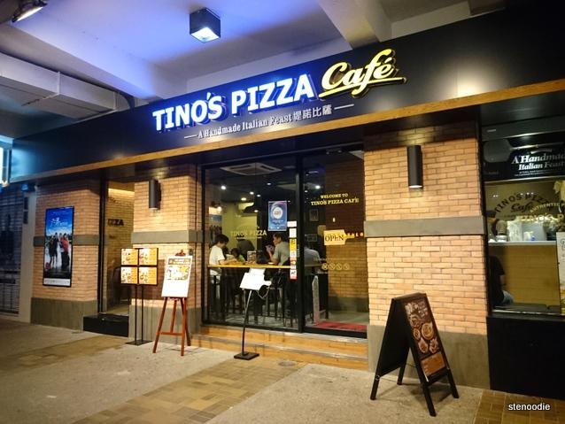 Tino's Pizza Café Tai Po storefront