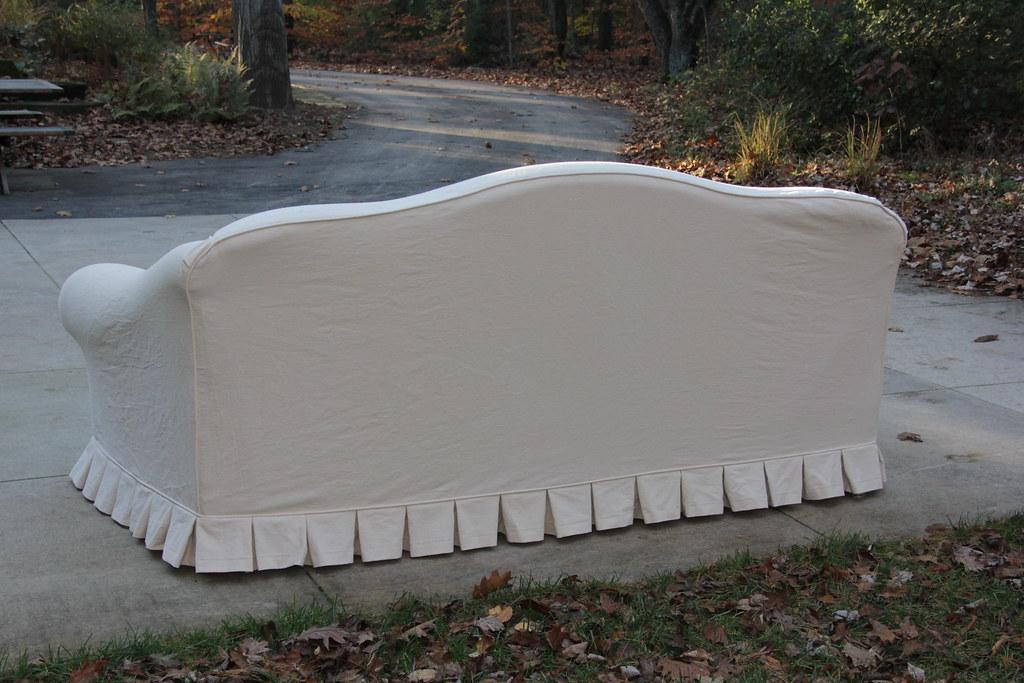 Camelback Sofa Slipcover   Back | Jessica Kovach | Flickr