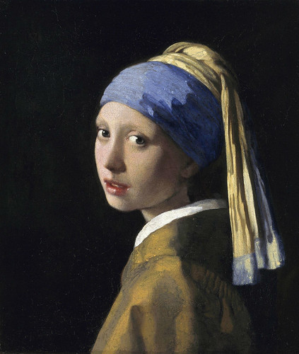 Girl without a Pearl Earring | by HeadReaper