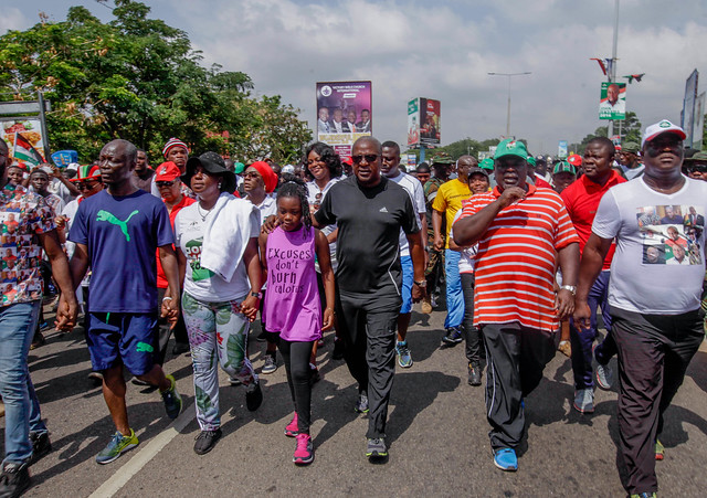 Greater Accra Regional Health walk