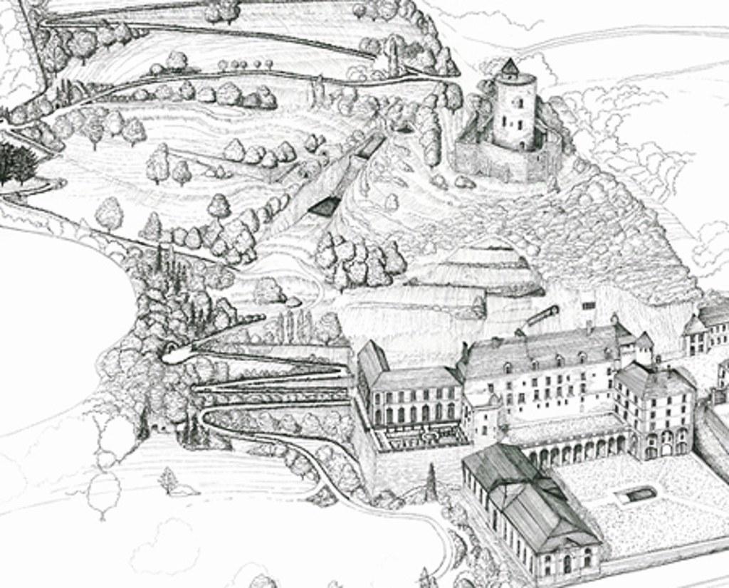 Plan Du Jardin Anglais A La Roche Guyon Les Promenades Su Flickr