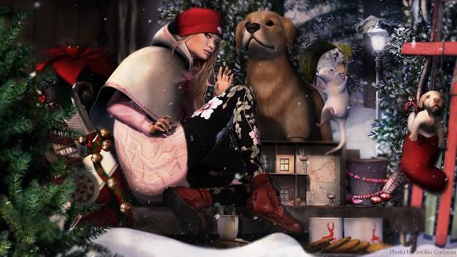 Santa pre vintage christmas 1946