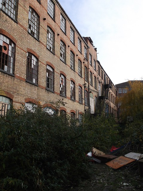 Wycombe warehouse courtyard view