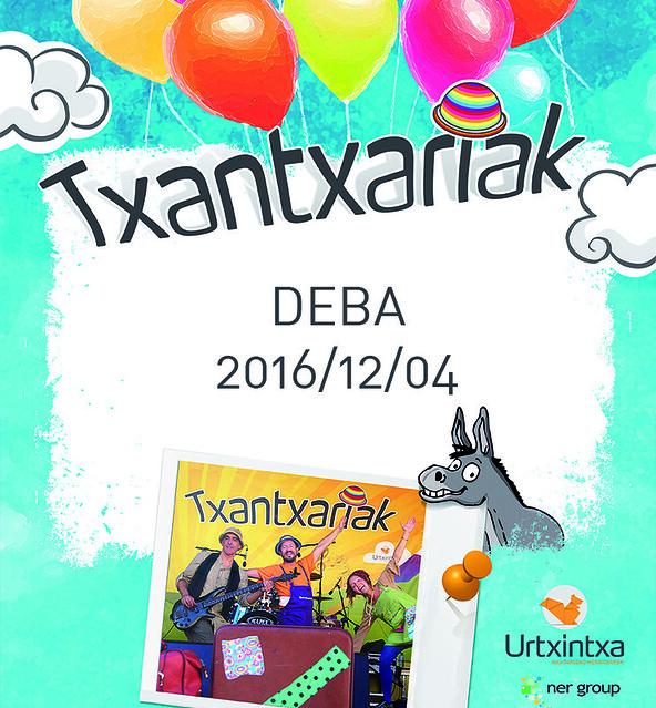 Txantxariak- Deba