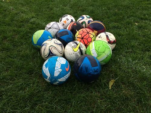 Pile of Soccer Balls | Steven Depolo | Flickr