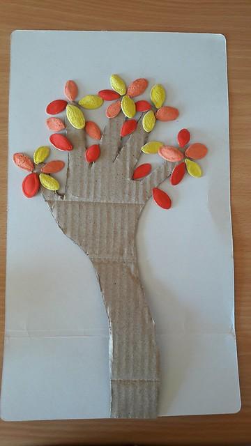 Lavoretti autunno: albero