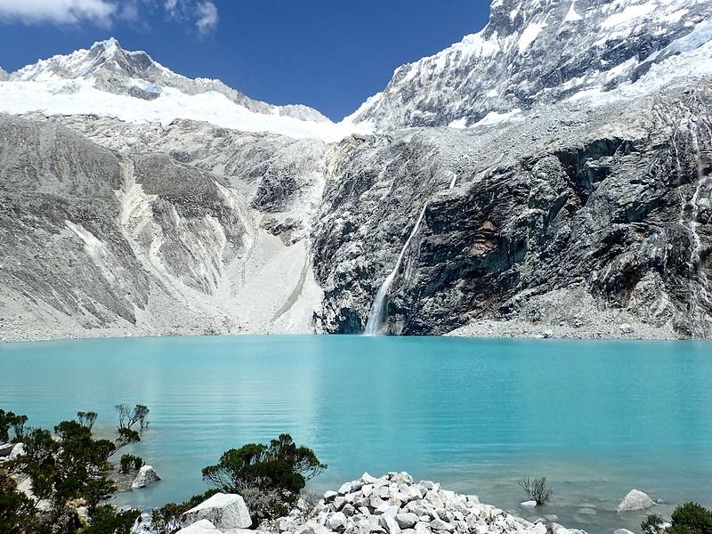 La Laguna 69, a 4.600 metros por encima del nivel del mar.