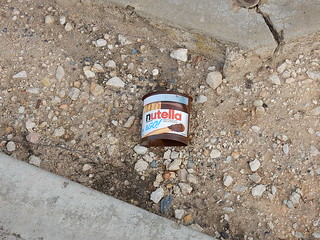 Discarded Nutella | by mikecogh